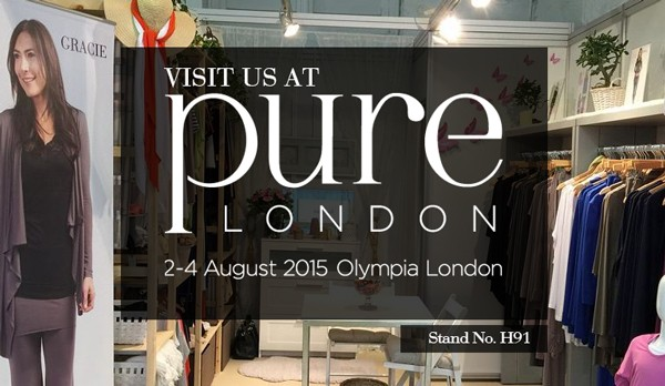 Visit us at Pure London (AUG 02 - 04 2015) | Stand #H91
